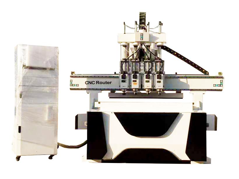 数控CNC四工序木工加工中心